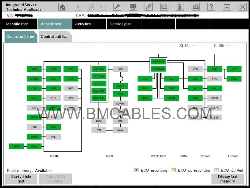 Bmw Dcan Obd Usb Diagnostic Fault Code Cable This Lead